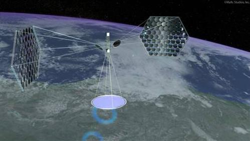 日本计划耗资210亿美元建造的外太空太阳能电站!