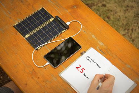 薄如杜蕾斯的太阳能充电器,你见过吗?可以夹在笔记本中!