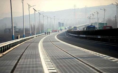 """""""太阳能公路""""因设计缺陷受损 而非失窃"""